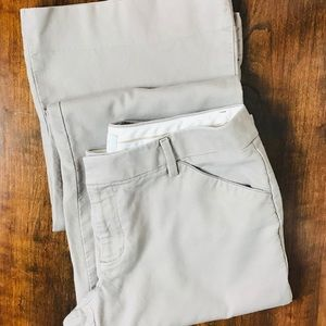 GAP Pants - Women's GAP Khaki Trousers Size 6L